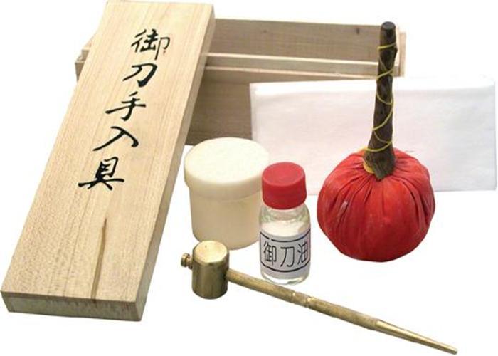 katana cleaning kit instructions