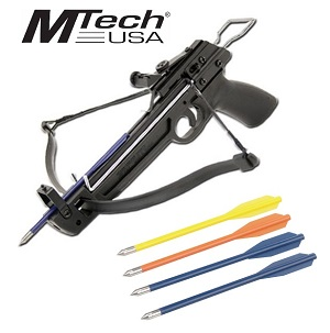 50 Lb. Draw High-Powered Mini Pistol Crossbow